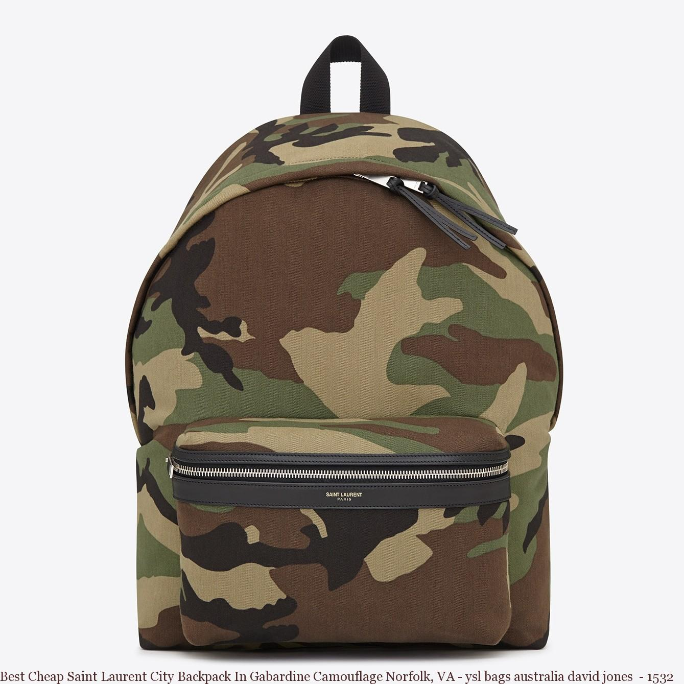 4ac0eb6e5bc0 Best Cheap Saint Laurent City Backpack In Gabardine Camouflage ...